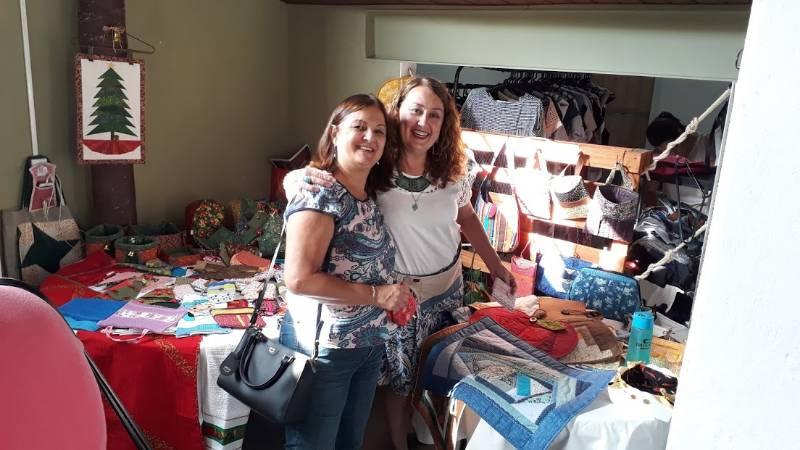 Bazar de artesãos em Barão Geraldo