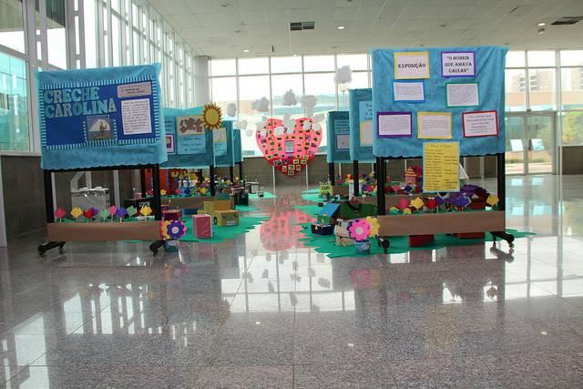 Exposição de alunos da rede municipal de Paulínia