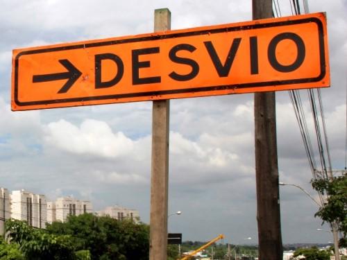 Local está sinalizado pela Emdec (Crédito: divulgação)