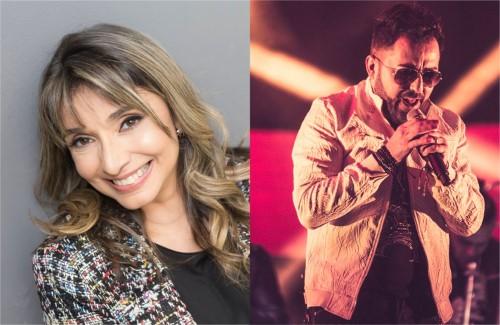 Cantores Soraya Moraes e Jonas Vilar vão se apresentar no evento (Crédito: divulgação)
