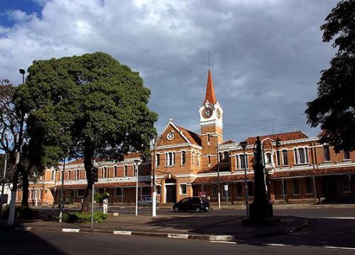 A fachada da Estação Cultura, na região central de Campinas (Crédito: divulgação)