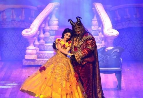 Espetáculo musical A Bela e a Fera (Crédito: divulgação)