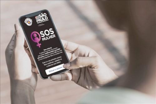 App SOS Mulher (Crédito: divulgação)