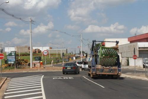 Trecho liberado em Avenida São Francisco (Crédito: divulgação)