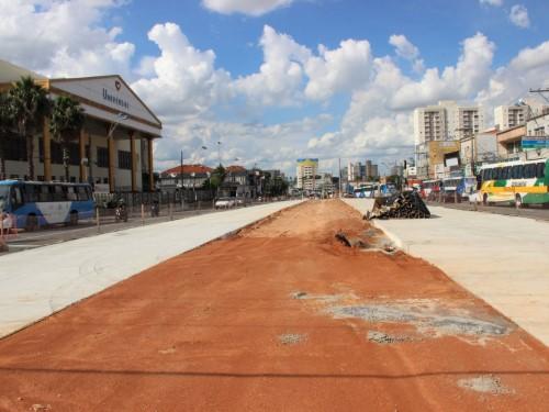 Avenida João Jorge interditada para obras do BRT (Crédito: divulgação)