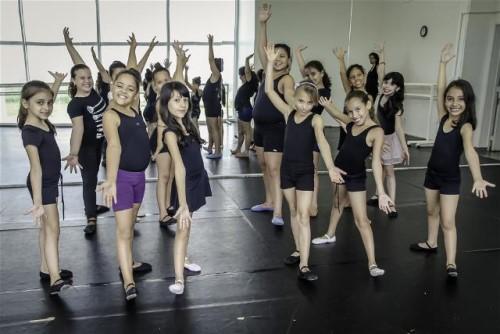 Aula de Ballet Cultura (Crédito: divulgação)