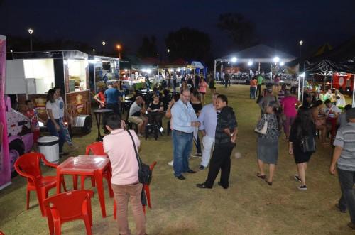 Feira noturna em Sumaré (Crédito: divulgação)