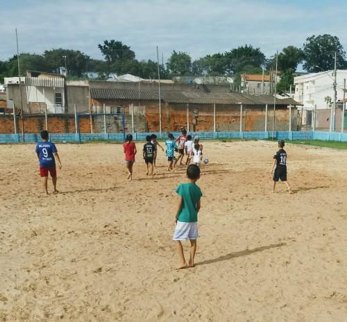 Futebol de Areia (Crédito: divulgação)