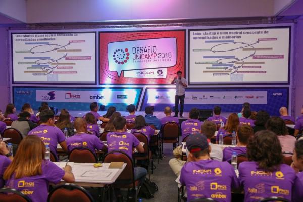 Participantes em edição anterior do Desafio Unicamp (Crédito: divulgação)