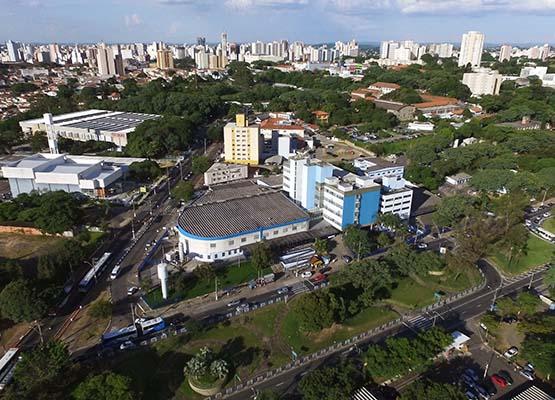 Hospital Mário Gatti é um dos locais que os aprovados irão trabalhar (Crédito: divulgação)