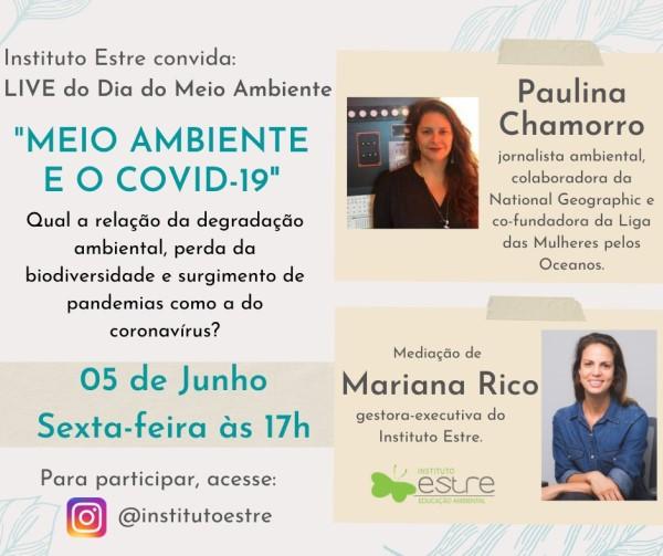 Estre promove live sobre meio ambiente nesta sexta