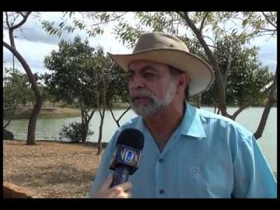 Padovani em entrevista na Lagoa do João Aranha (TVB)