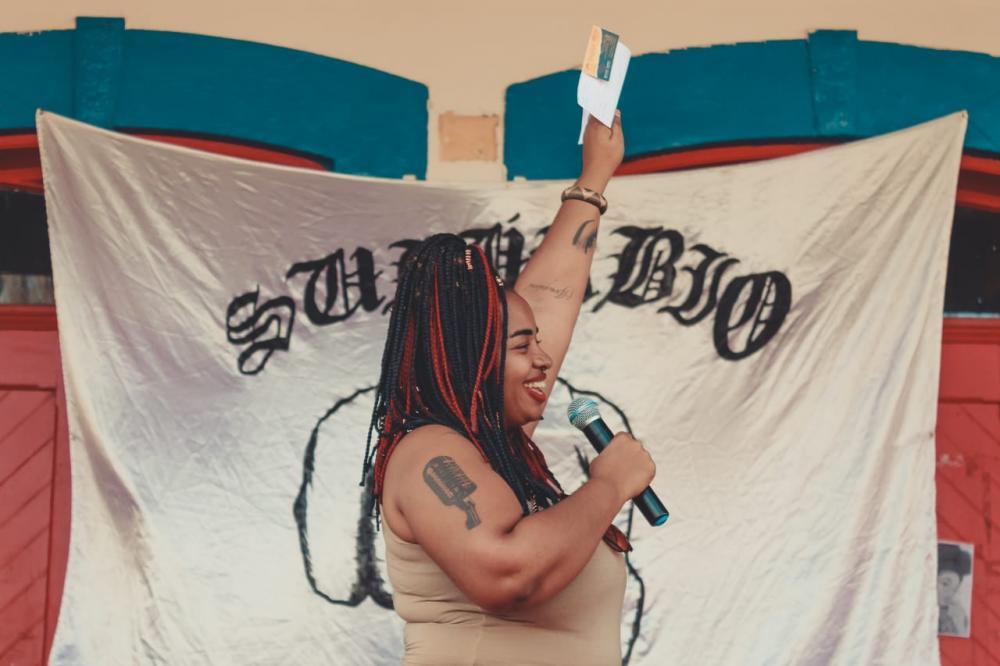 Jacqueline organiza eventos em Porto Ferreira voltado ao público negro (Crédito: arquivo pessoal)