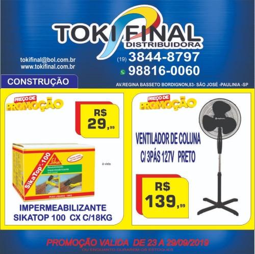 Promoções da semana na Toki Final (Crédito: divulgação)