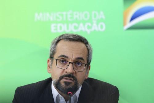 Abraham Weintraub em discurso sobre o Enem (Crédito: Agência Brasil)