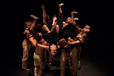 Corpo de Dança da Secretaria de Cultura, em outro espetáculo (Crédito: divulgação)