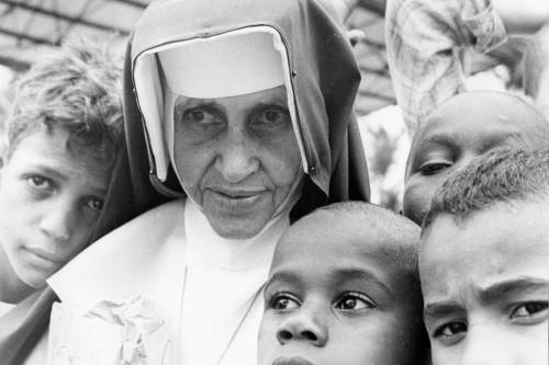 Irma Dulce é a primeira santa brasileira (Crédito: acervo Irmã Dulce)