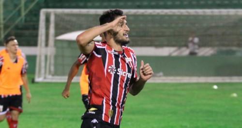 Botafogo foi melhor em campo e dominou o Guarani (Crédito: divulgação)
