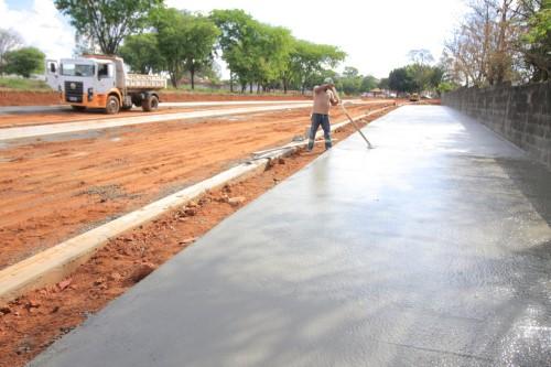 Obras são resultado de parceria entre prefeitura e Governo Federal (Crédito: divulgação)