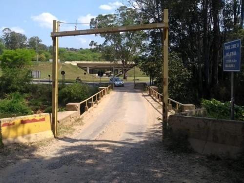 Ponte será fechada por tempo indeterminado (Crédito: divulgação)