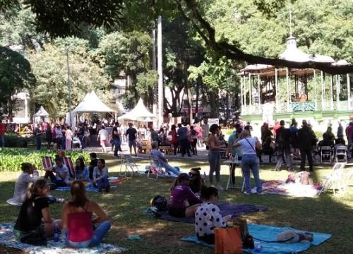 Praça Carlos Gomes fica no Centro de Campinas (Crédito: divulgação)