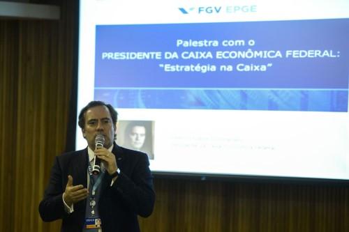 Pedro Duarte Guimarães, que atualmente é presidente da Caixa (Crédito: Tomaz Silva)