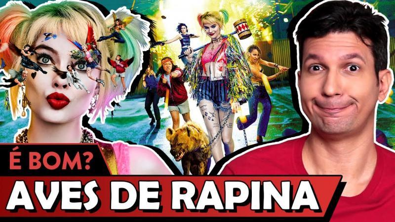 Canal do Youube faz crítica sobre o filme Aves de Rapina