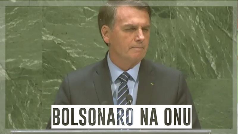 Bolsonaro realizou discurso polêmico na ONU - confira!
